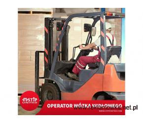 Operator wózka widłowego- praca od zaraz